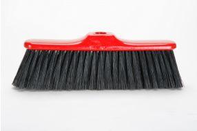 מטאטא משרדי אדום שחור מחוזק