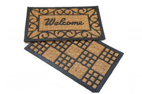 שטיח כניסה עם גומי 35*55